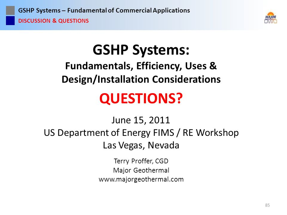 US Department of Energy FIMS / RE Workshop