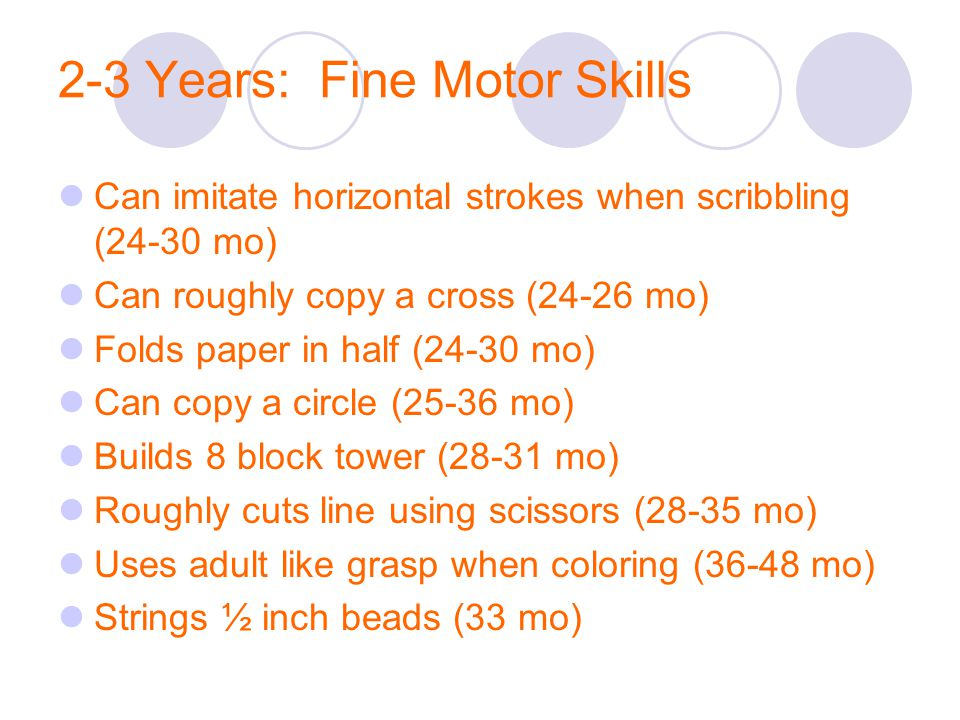 Fine motor skills checklist for 8 year olds for Fine motor skills activities for 2 3 year olds