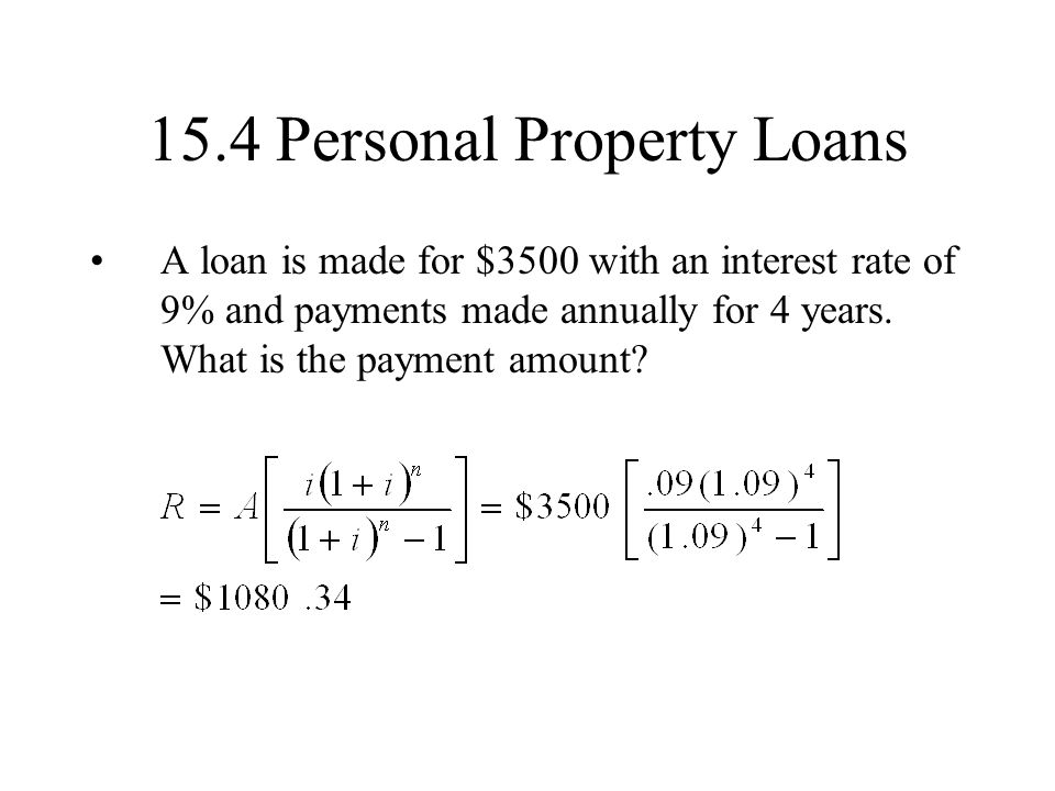13 1 compound interest simple interest interest is paid for Loan for land only