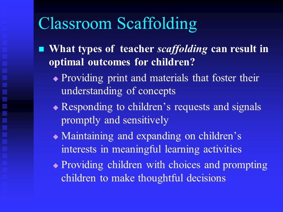 Classroom Scaffolding