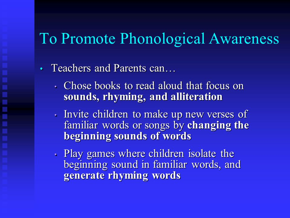 books that promote phonological awareness