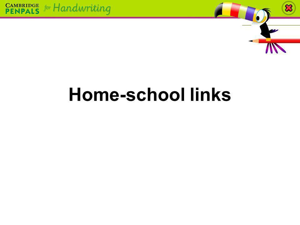Home-school links
