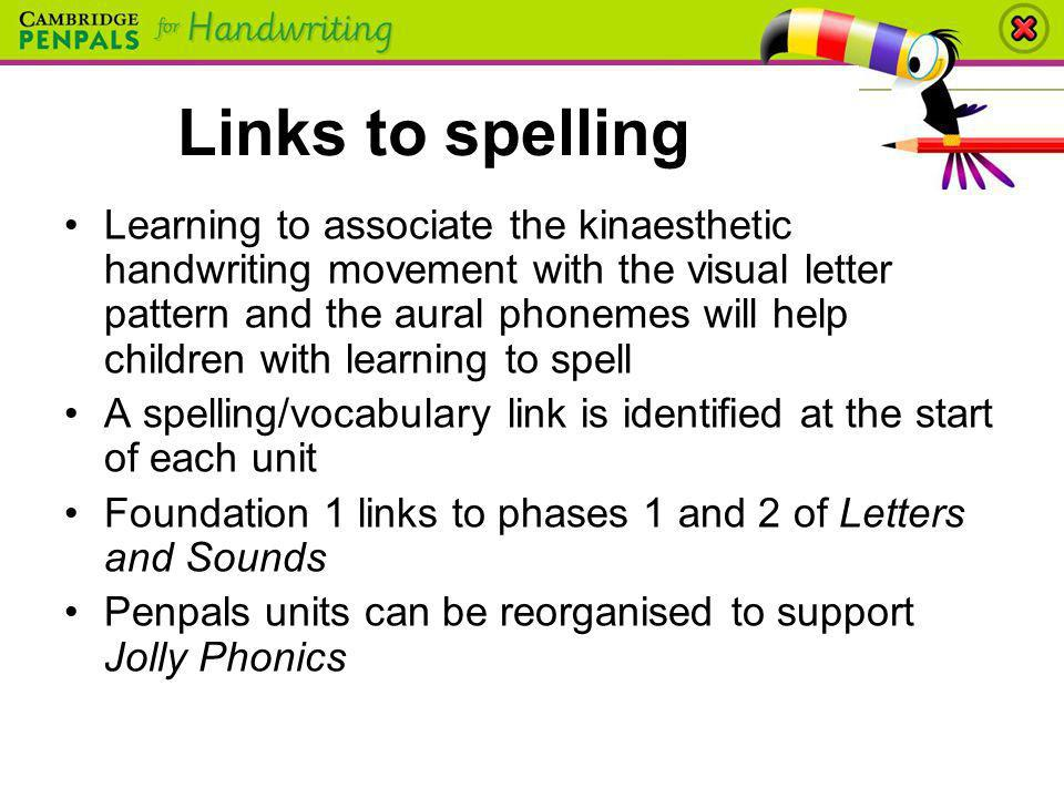 Links to spelling
