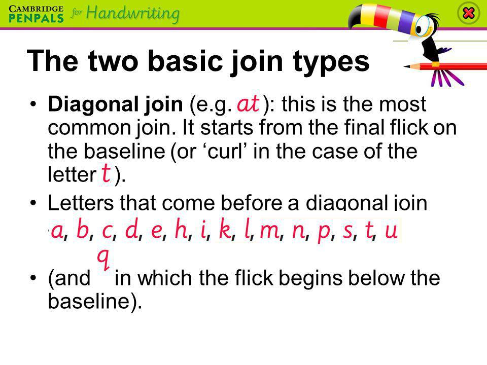 The two basic join types