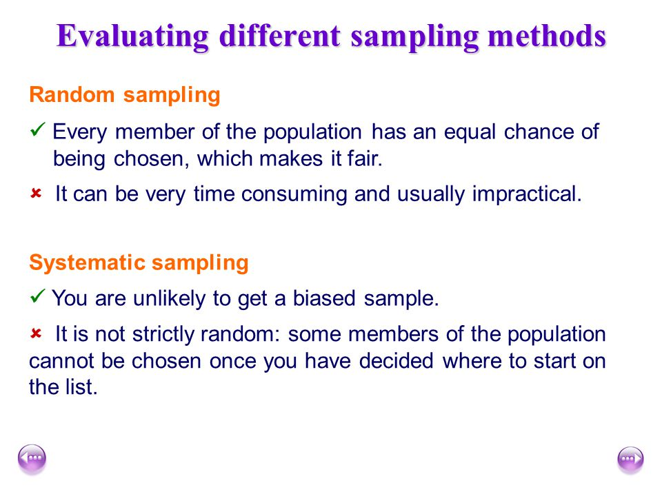 evaluate different techniques for sampling evidence Qualitative research & evaluation methods (3rd material and understand what good evidence there is to affected by the sampling.