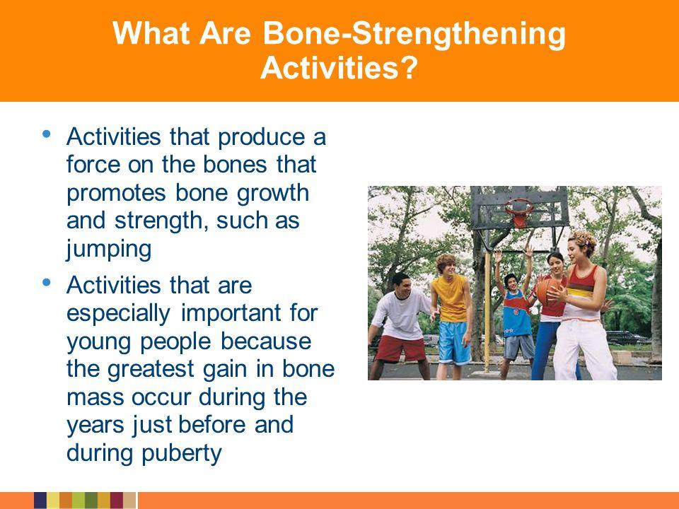 What Are Bone-Strengthening Activities