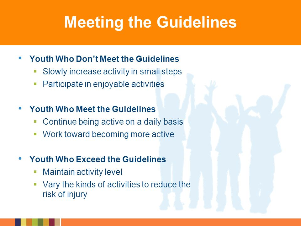 Meeting the Guidelines