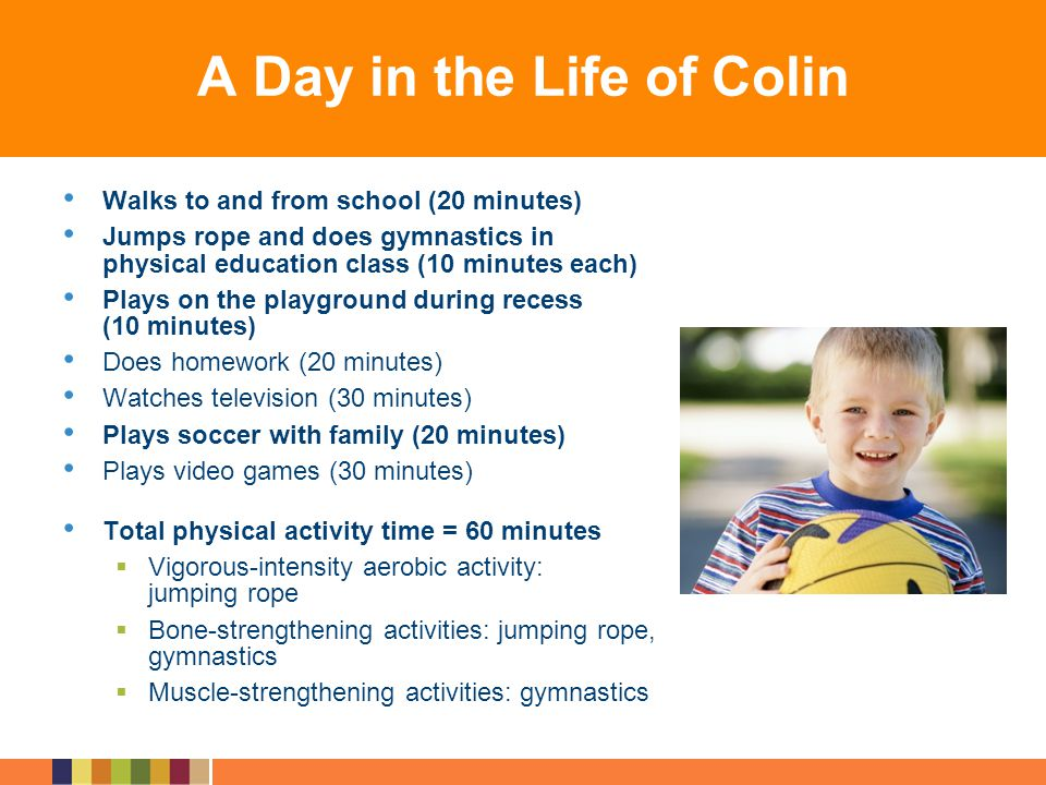 A Day in the Life of Colin
