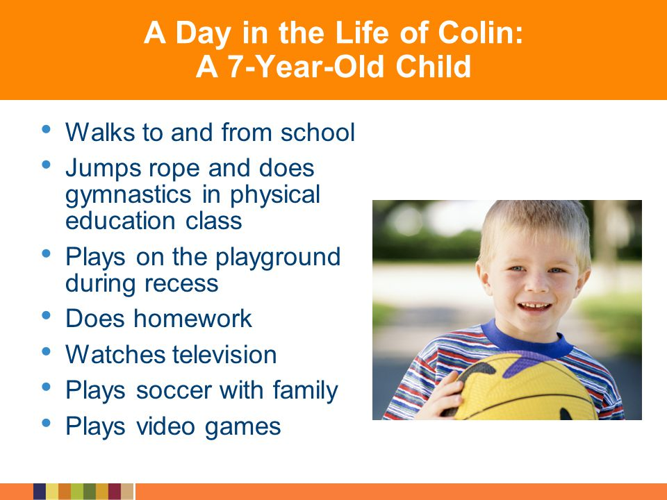 A Day in the Life of Colin: A 7-Year-Old Child