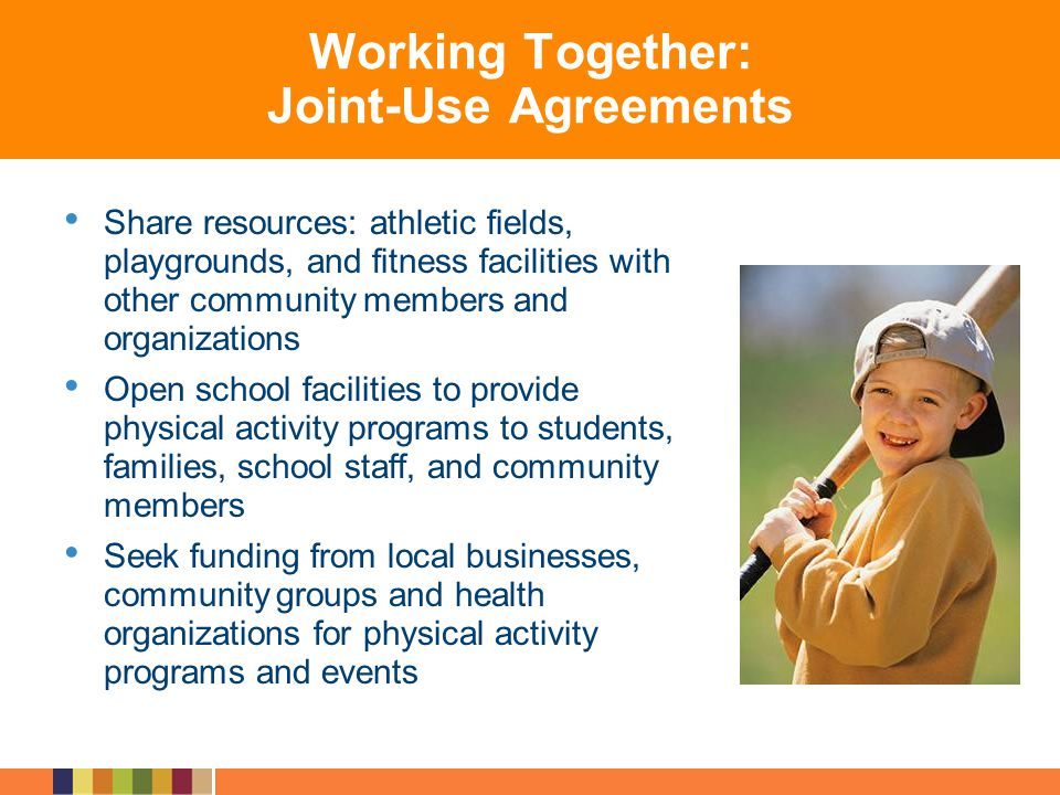 Working Together: Joint-Use Agreements