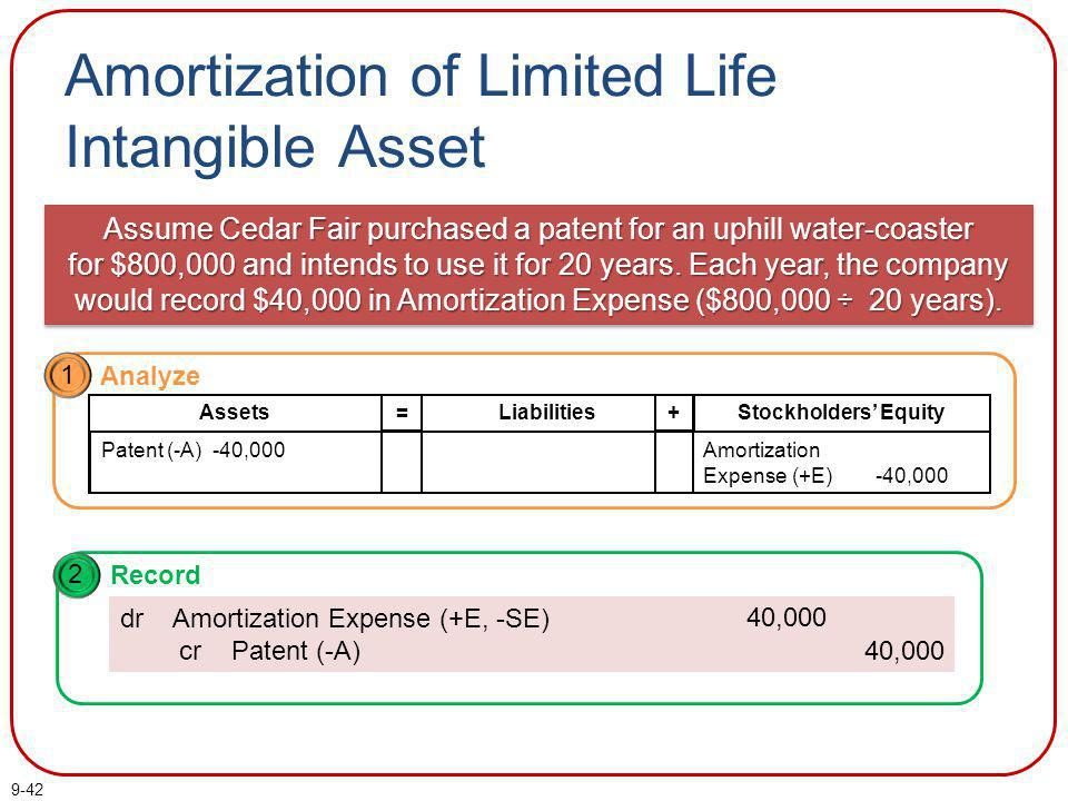 Amortization of Limited Life Intangible Asset