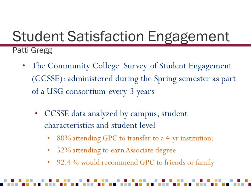 Student Satisfaction Engagement