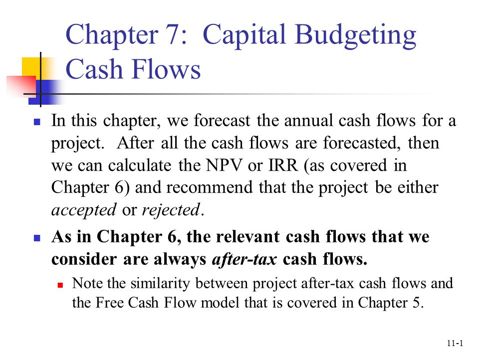 how to find annual cash flow