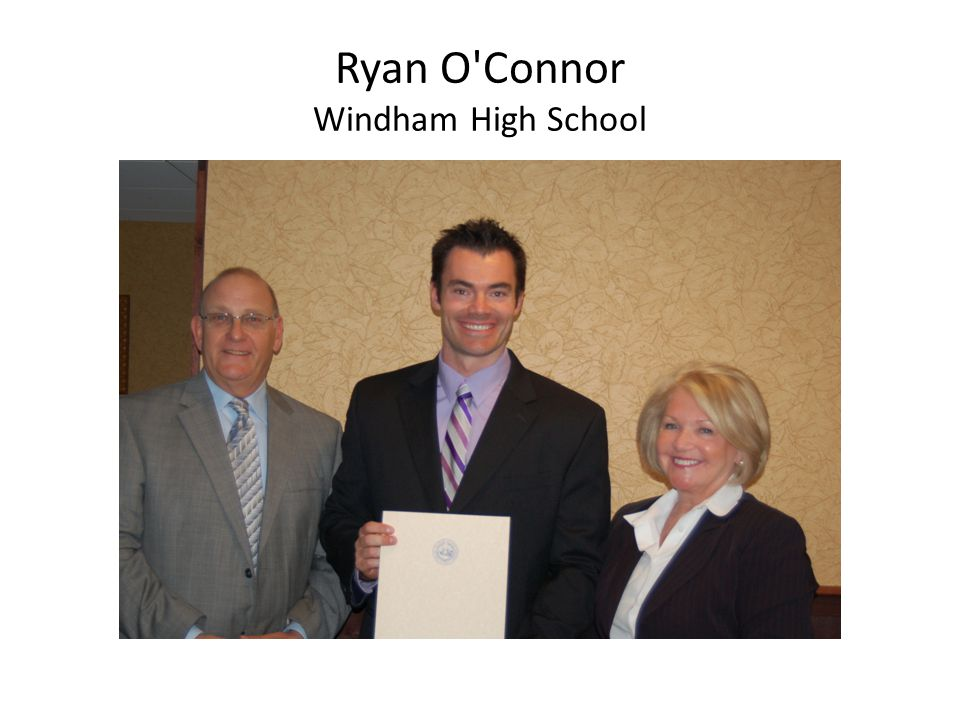 Ryan O Connor Windham High School