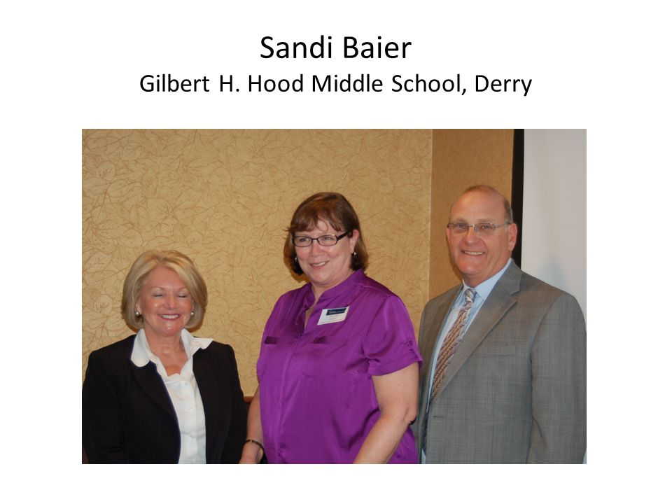 Sandi Baier Gilbert H. Hood Middle School, Derry