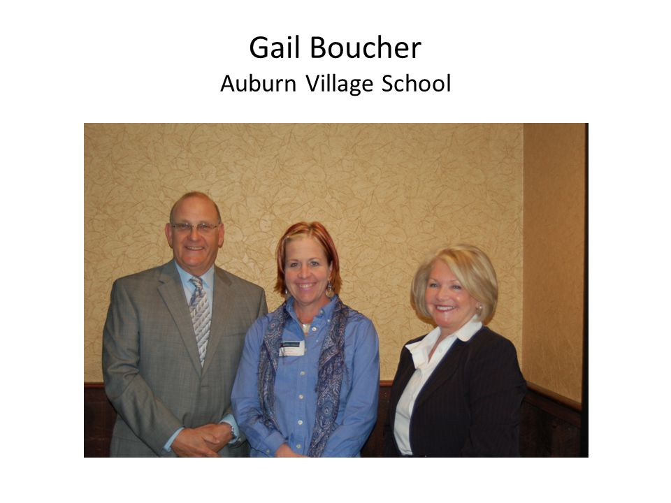 Gail Boucher Auburn Village School