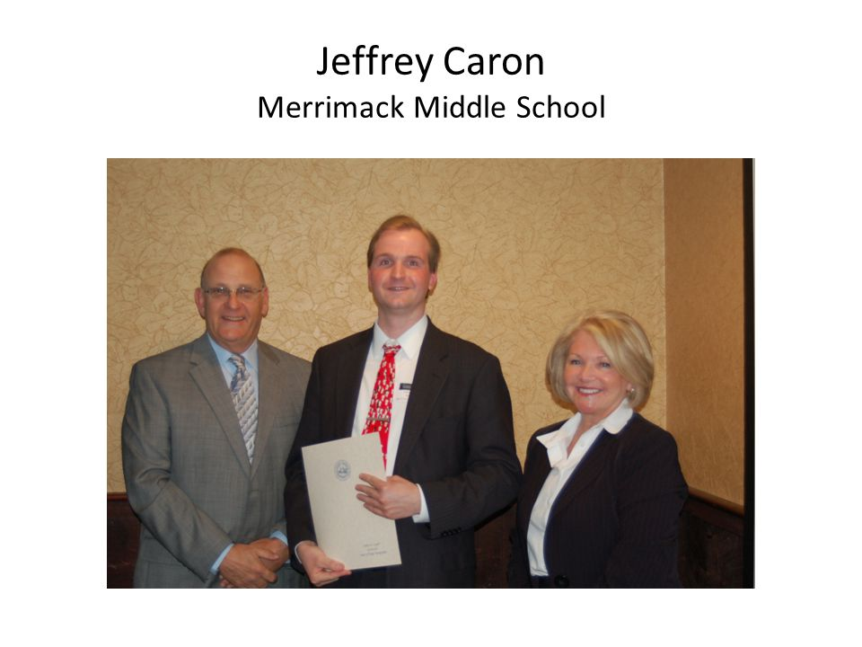 Jeffrey Caron Merrimack Middle School