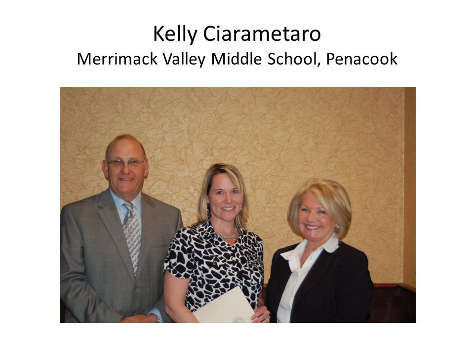 Kelly Ciarametaro Merrimack Valley Middle School, Penacook