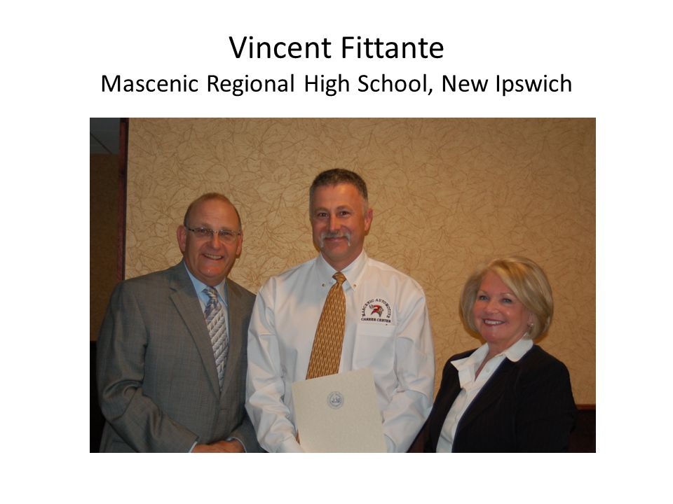 Vincent Fittante Mascenic Regional High School, New Ipswich
