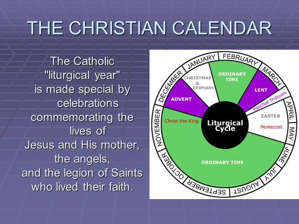 THE CHRISTIAN CALENDAR