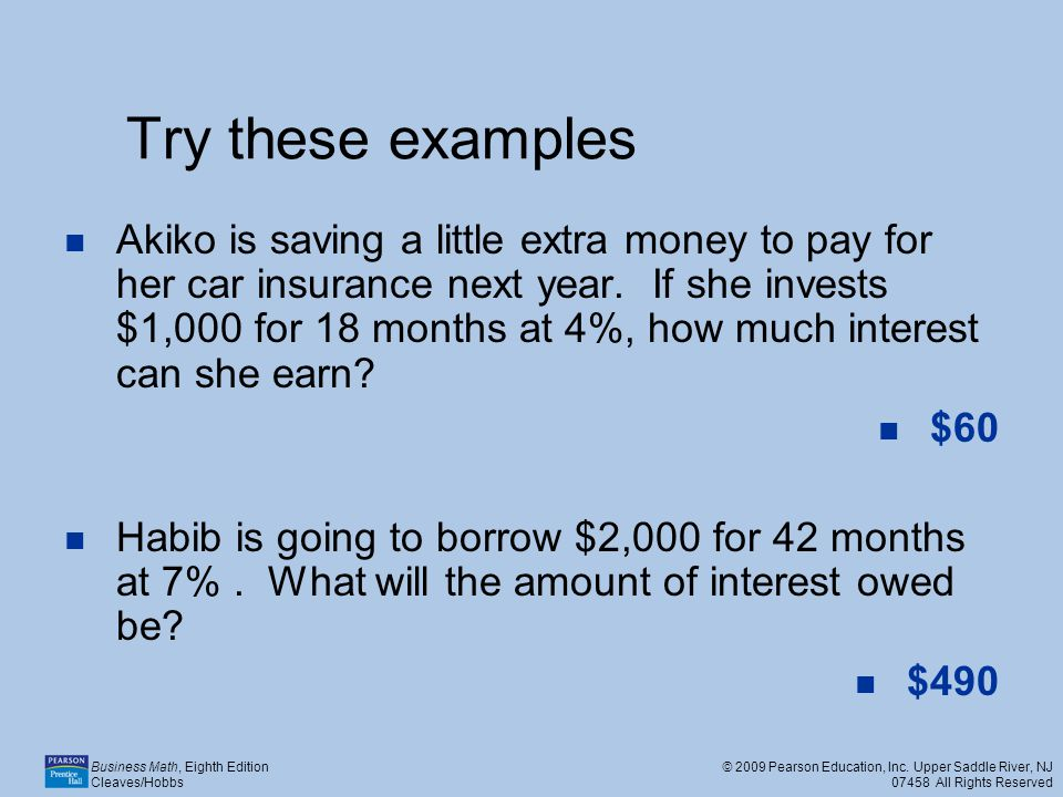 Try these examples