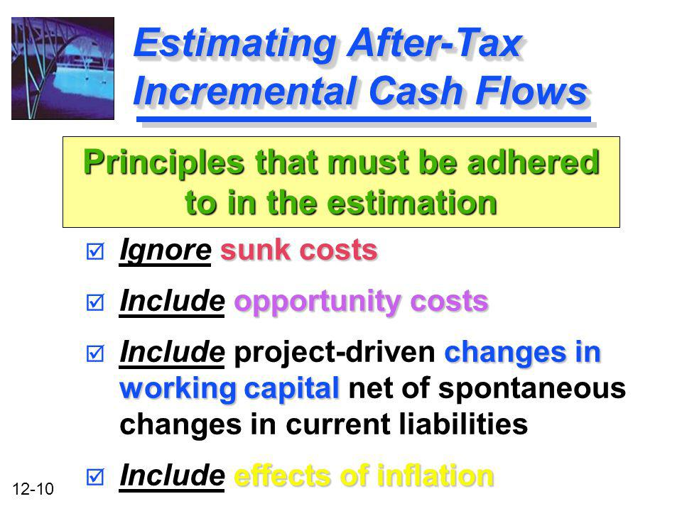 Estimating After-Tax Incremental Cash Flows