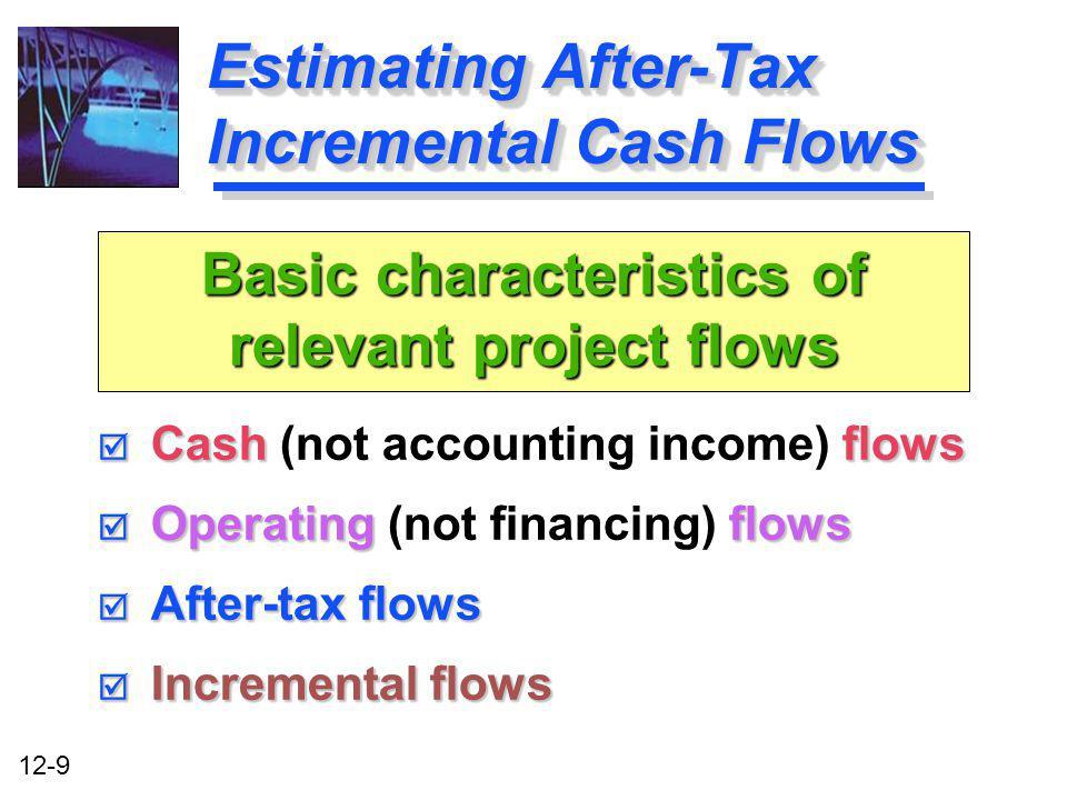 Estimating After-Tax Incremental Cash Flows