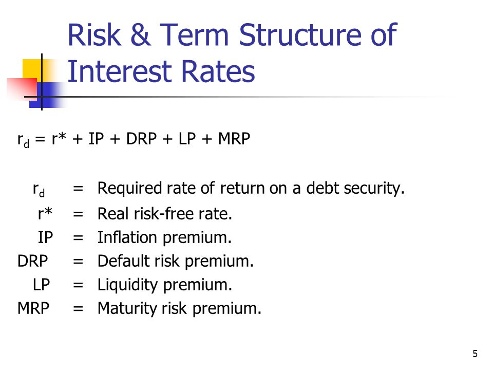 Risk-Free Rate Uses