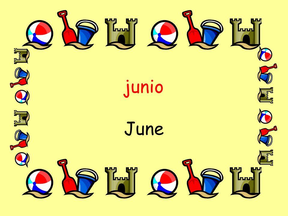 junio June