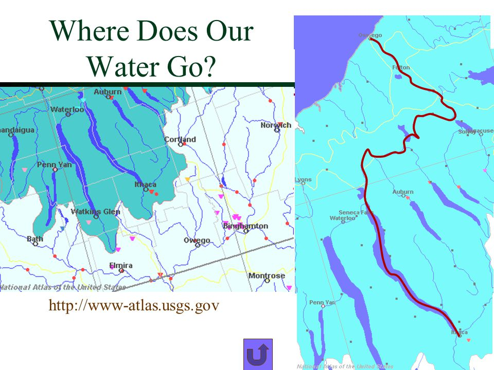 Where Does Our Water Go http://www-atlas.usgs.gov