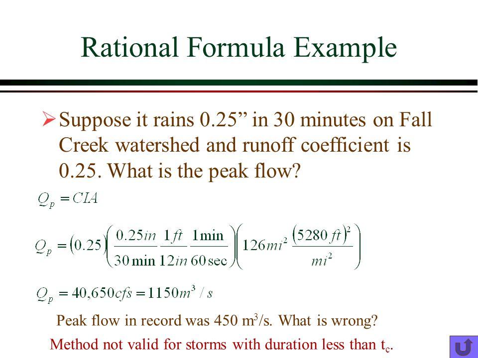 Rational Formula Example