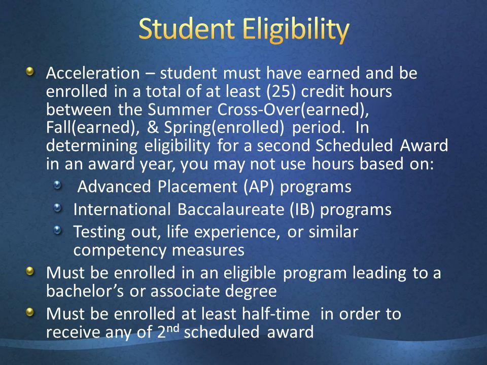 3/31/2017 3:48 PM Student Eligibility.