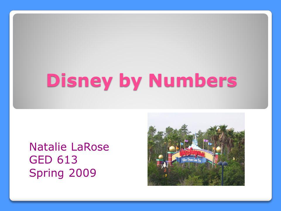 Natalie LaRose GED 613 Spring 2009