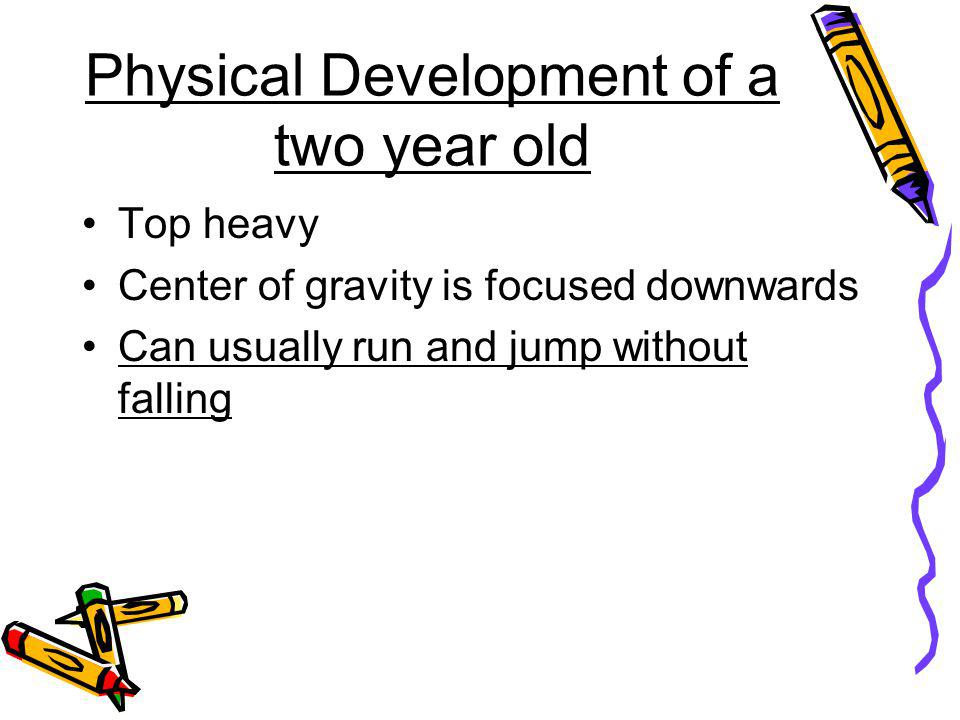 Physical Development of a two year old