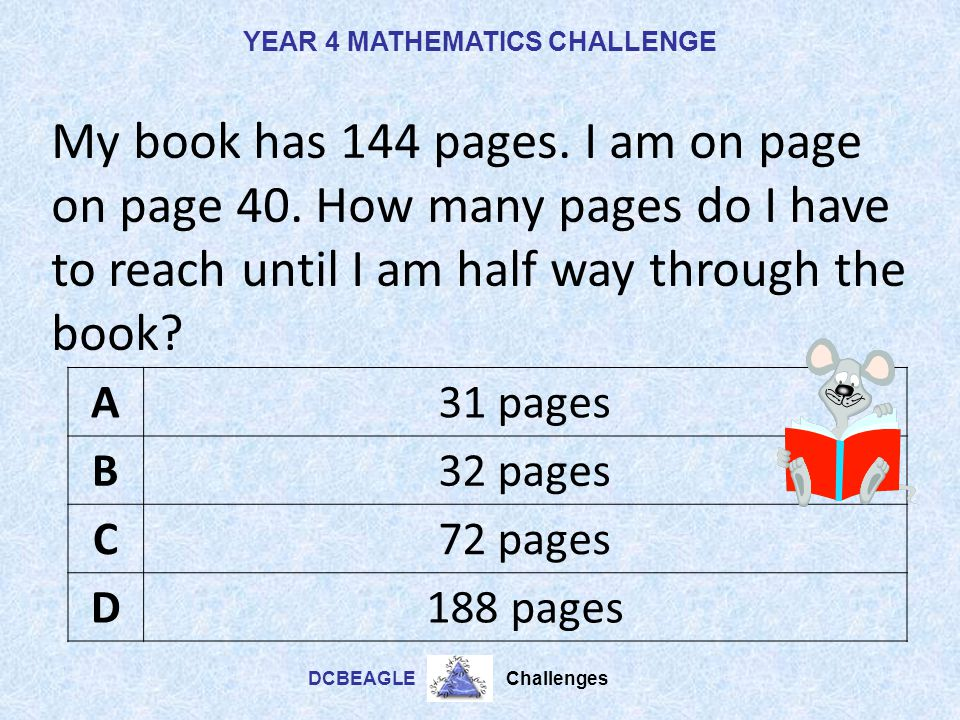 My book has 144 pages. I am on page on page 40