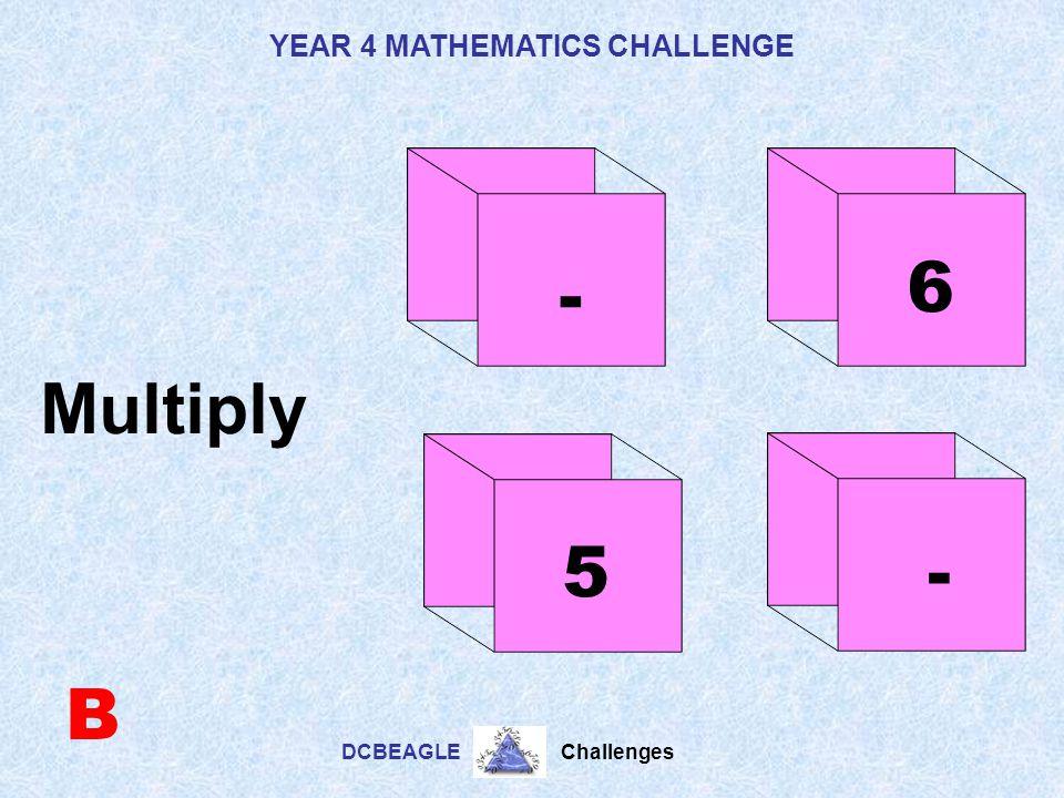 6 - Multiply 5 - B