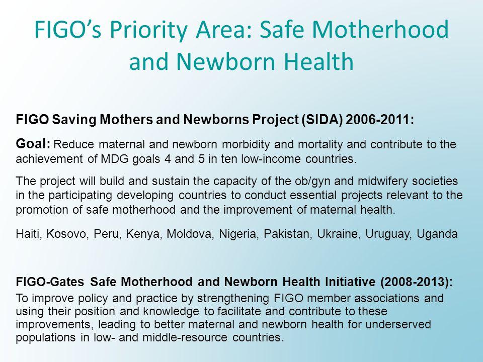 FIGO's Priority Area: Safe Motherhood and Newborn Health