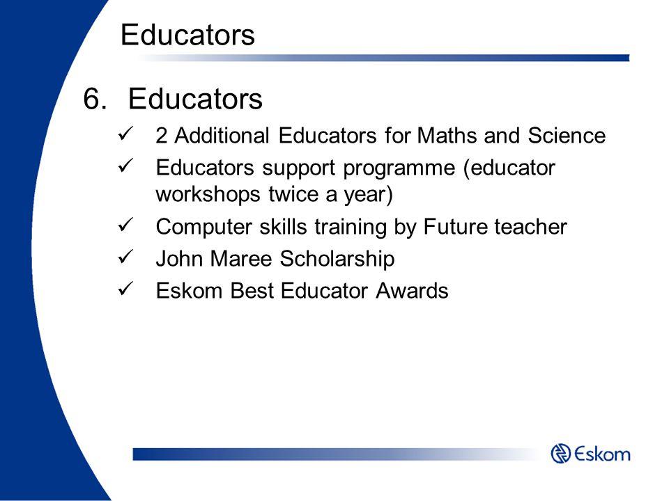 Educators Educators 2 Additional Educators for Maths and Science