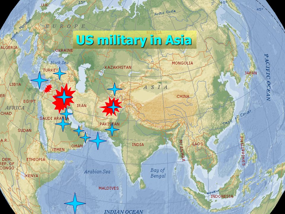 US military in Asia