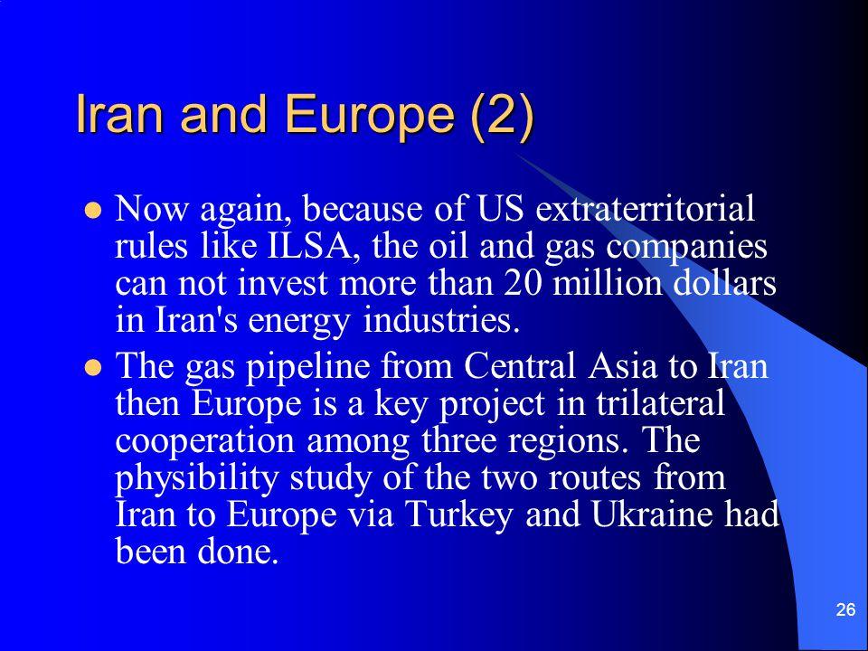 Iran and Europe (2)