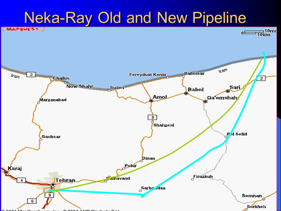 Neka-Ray Old and New Pipeline