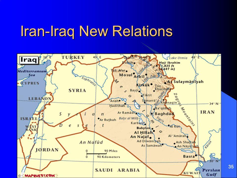 Iran-Iraq New Relations