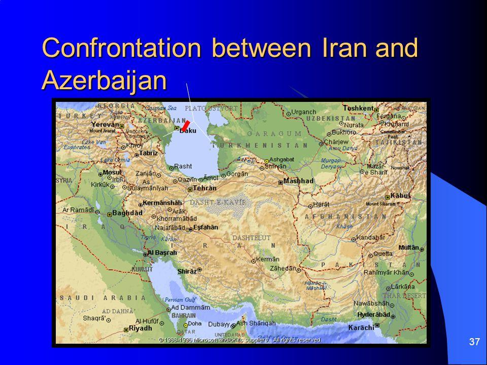 Confrontation between Iran and Azerbaijan