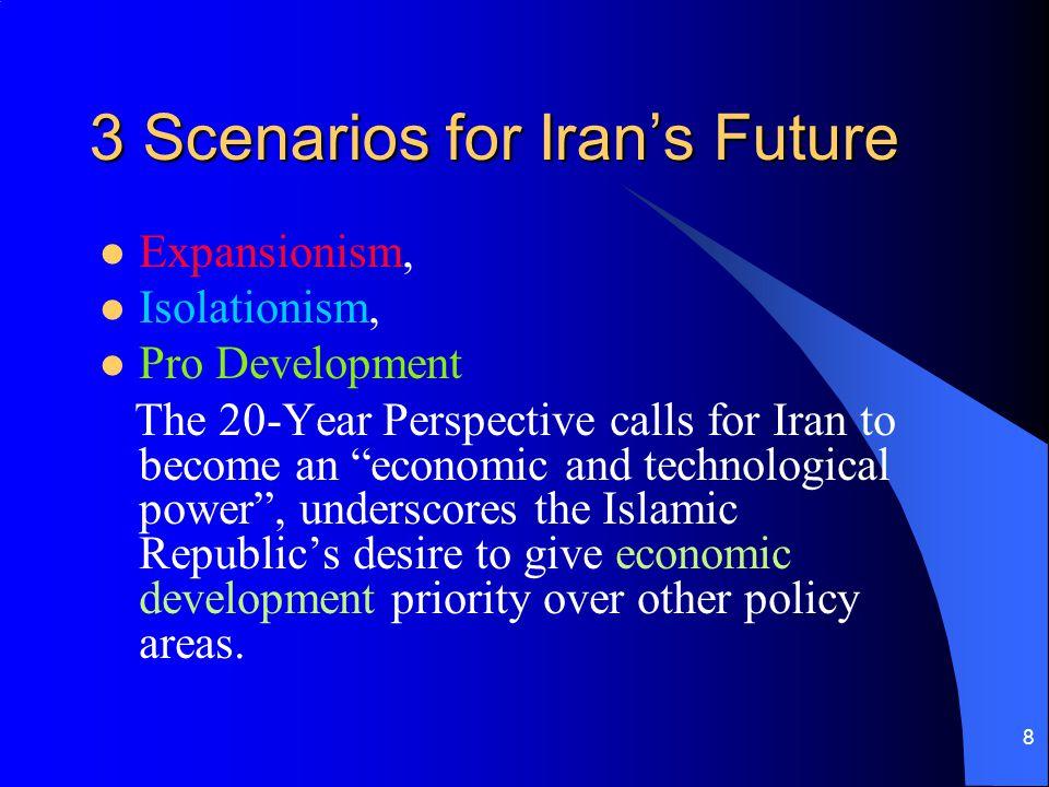 3 Scenarios for Iran's Future