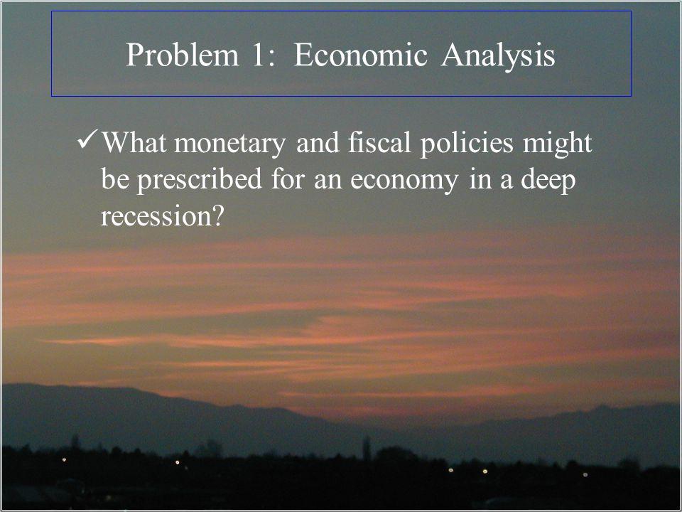 Problem 1: Economic Analysis