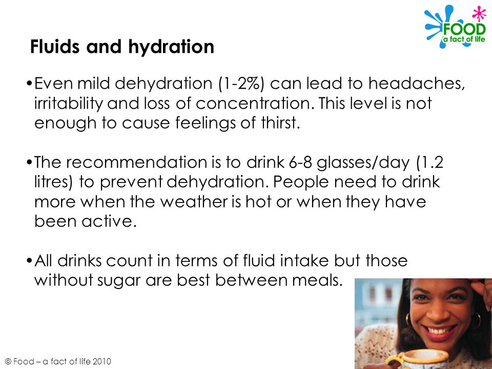 Fluids and hydration