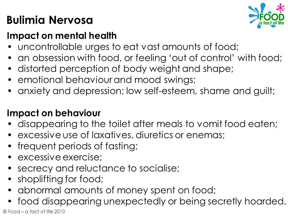Bulimia Nervosa Impact on mental health
