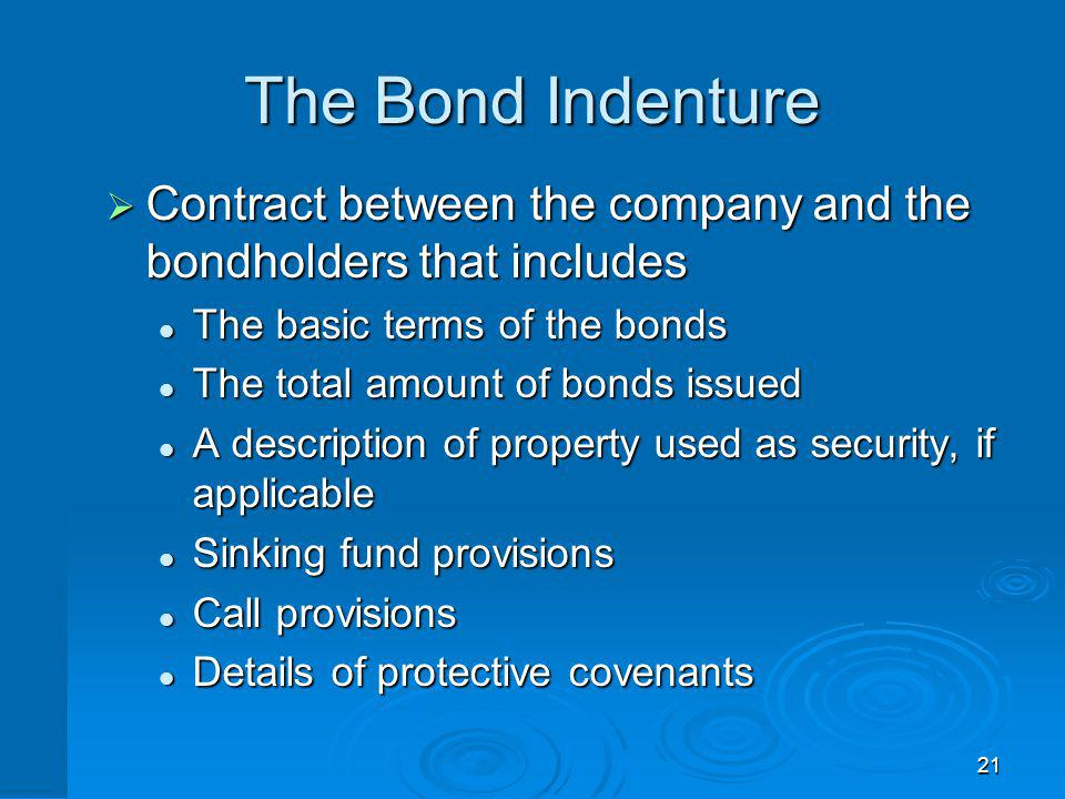 Bond Classifications Registered vs. Bearer Forms Security Seniority