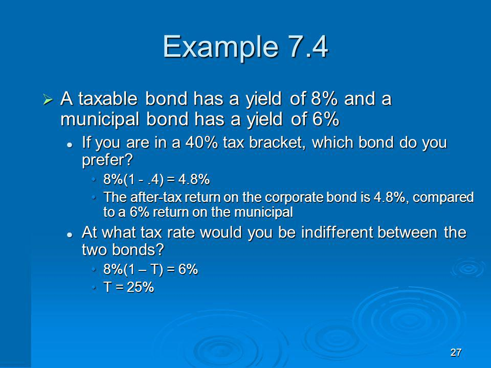 Zero Coupon Bonds Make no periodic interest payments (coupon rate = 0%)