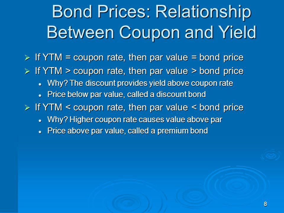 The Bond Pricing Equation